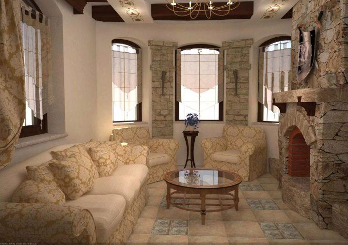 Дизайн каминов в интерьере помещений