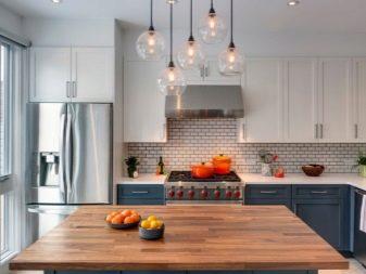 Дизайн кухни площадью 8 кв. метров с холодильником