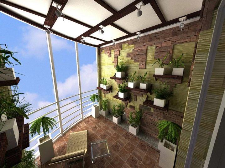 Дизайн лоджии, совмещенной с комнатой