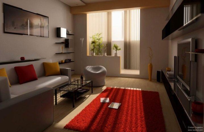 Дизайн зала: тонкости оформления комнаты площадью 20 кв. м