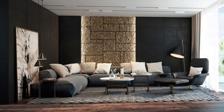 Как сочетать цвета в интерьере гостиной: советы дизайнеров