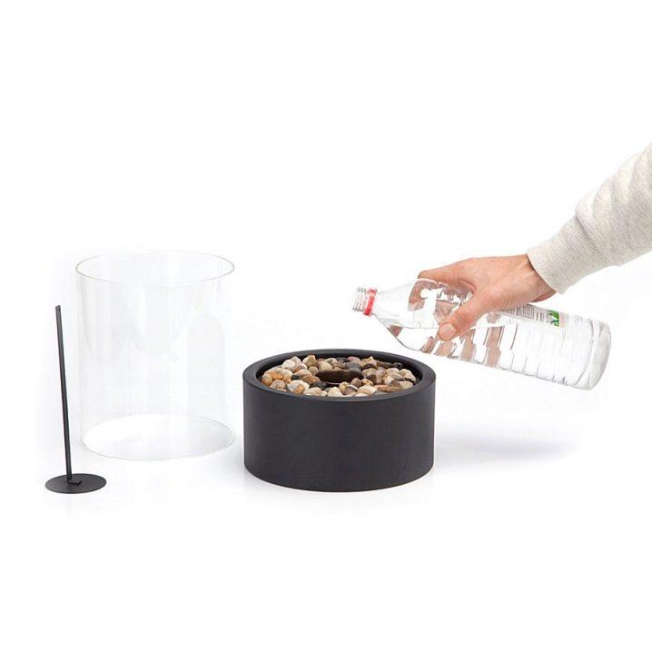Камин на биотопливе