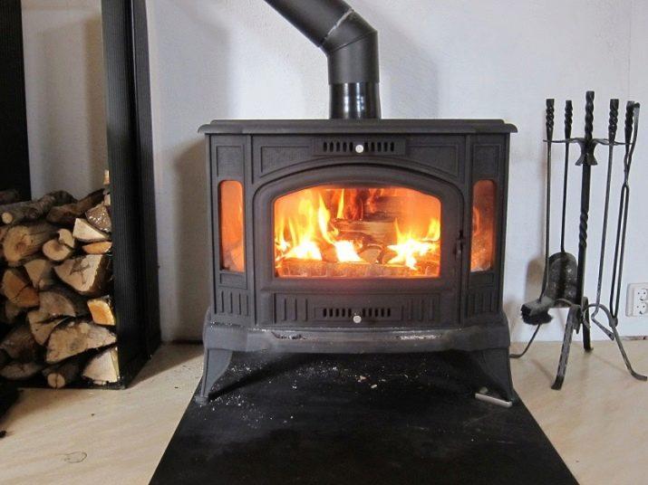 Камин-печь длительного горения