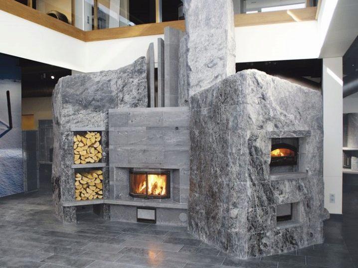 Камин с варочной поверхностью