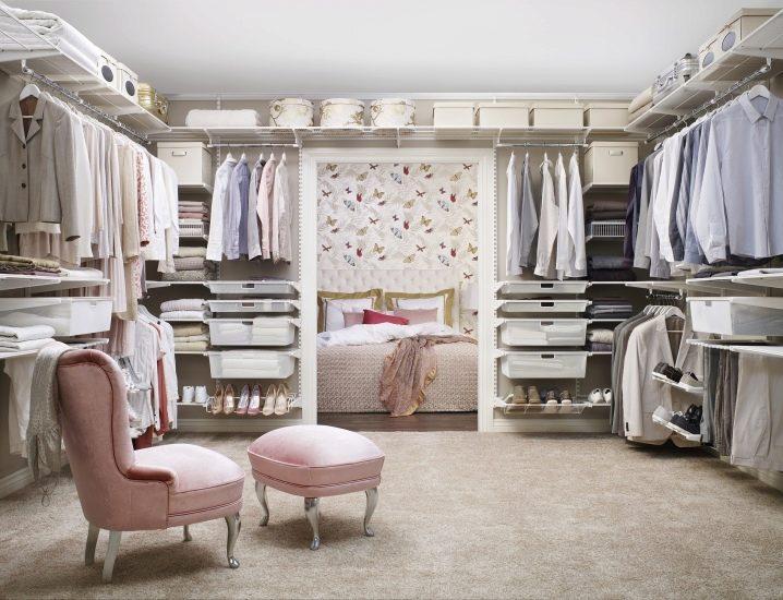 Наполнение для шкафов и гардеробных