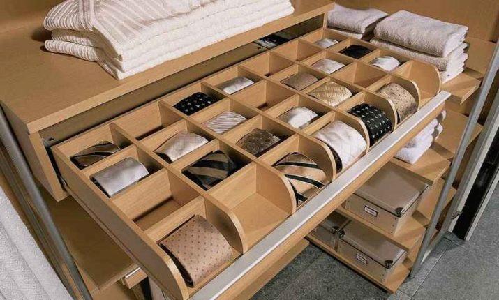 Наполнение шкафа-купе