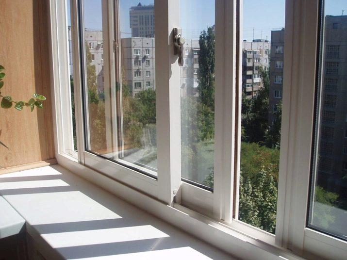 Окна на лоджию