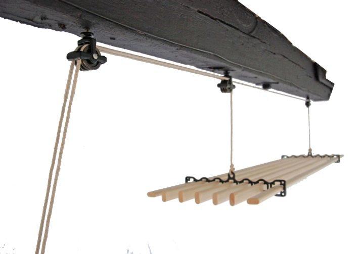 Потолочная сушилка на балкон для белья