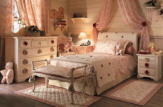 прованс в интерьере спален