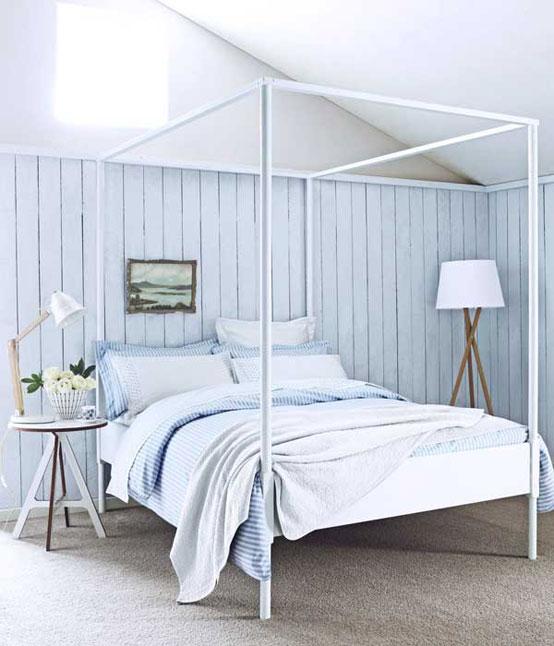 пример стиля прованс в спальне