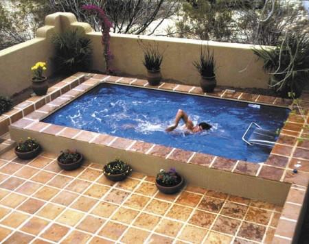 фото домашних бассейнов