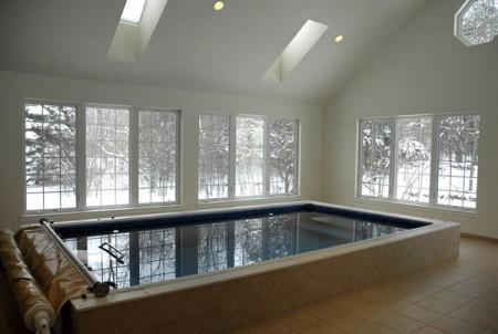 баня с бассейном проекты фото