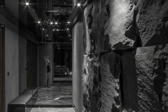 использование декоративного камня в интерьере