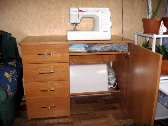 Делаем сами стол для швейной