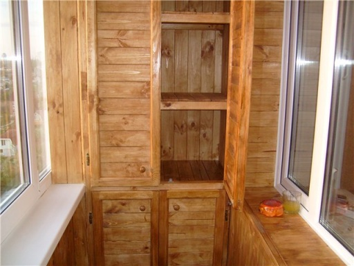 Делаем встроенный шкаф на балкон