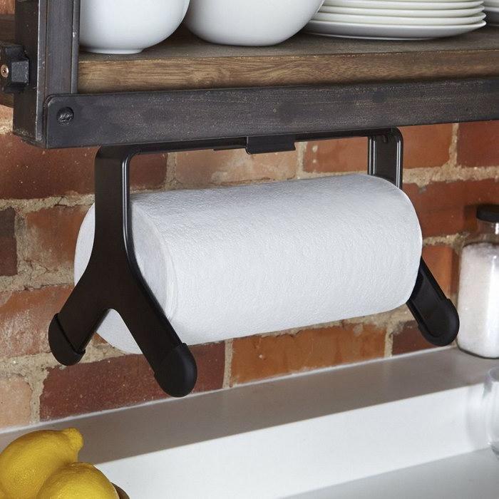 Как сделать держатель для бумажных полотенец своими руками?