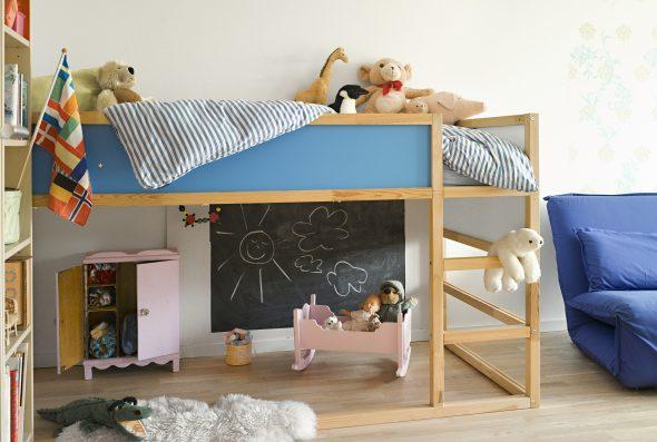 Детская кровать- чердак фото