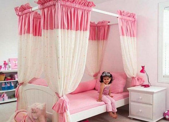 Детские кровати для девочек фото