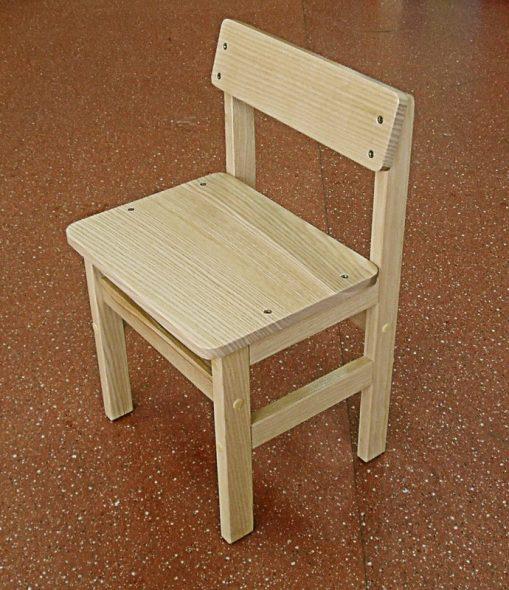 Детский стульчик-ясень