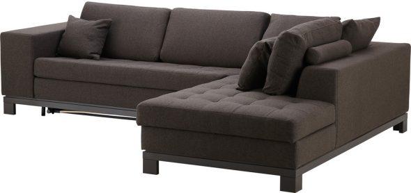 Диван-кровать ИКЕА темно-коричневый