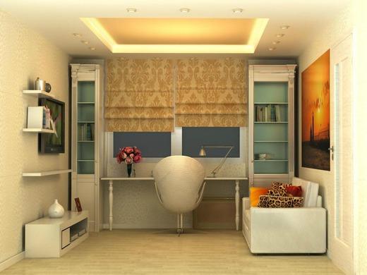 Дизайн-проект детской комнаты для школьницы