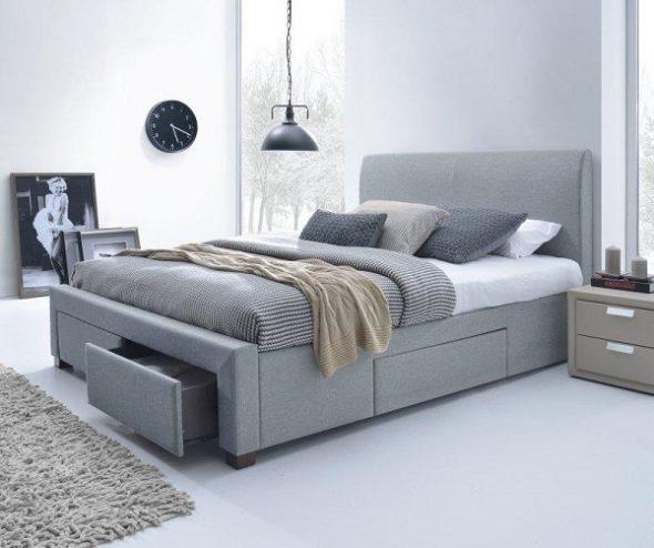 Двуспальная кровать Халмар Модена 160х200