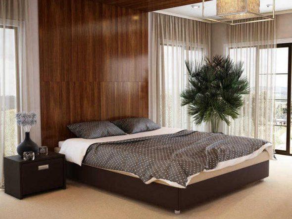 Двуспальная кровать без изголовья