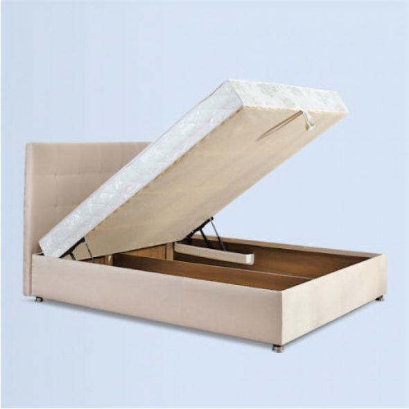 Двуспальная кровать с подъемным механизмом Лугано 160х200 см