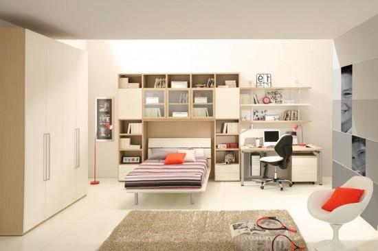 Идеи расстановки мебели в детской