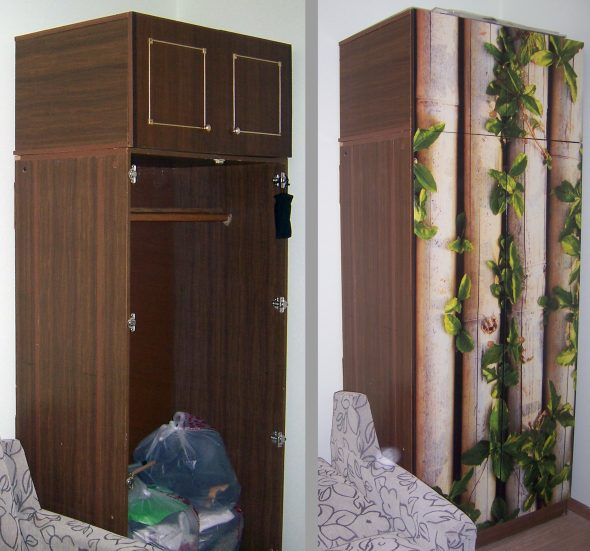 Идея по реставрации шкафа