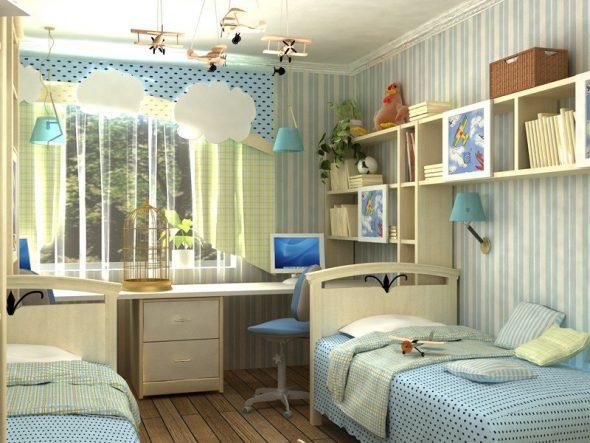 Интерьер комнаты для мальчиков