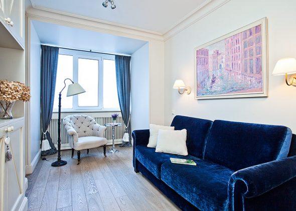 Интерьер квартиры в стиле современная классика