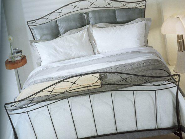 Кованая большая кровать икеа