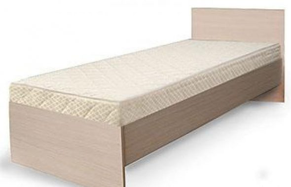 Кровать 1 ( жесткое основание ДСП на царга)