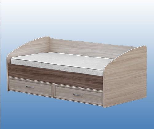 Кровать 900 с ящиками