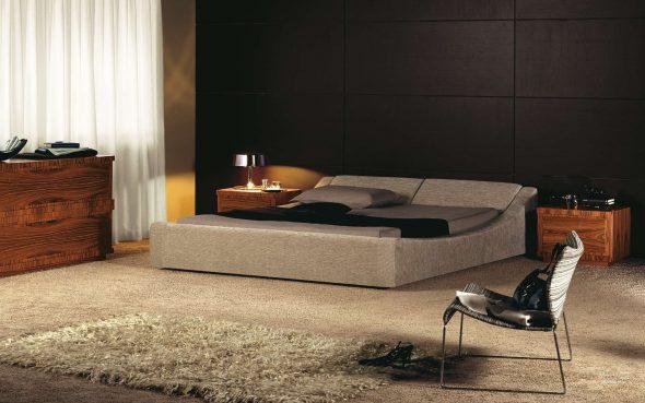 Кровать без изголовья CARVE