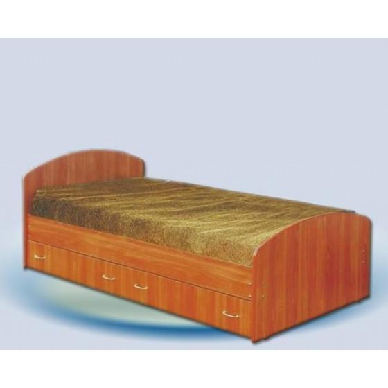 Кровать односпальная Мария с ящиками на направляющих