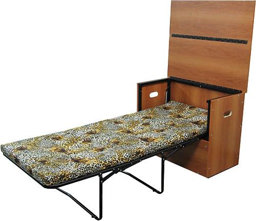 кровать тумба в разложенном положении