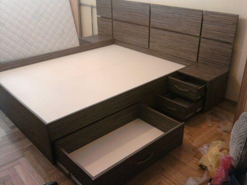 Кровать с дсп с ящиками для хранения