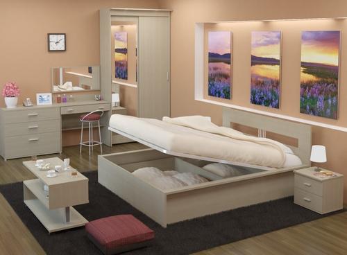 Кровать с подъемным механизмом-изображения