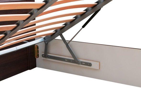 Кровать с подъёмным механизмом (газлифт) фото