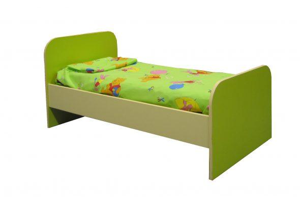Кровать зеленая для сада