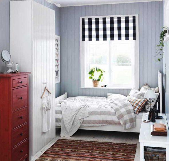 Кровати ИКЕА в интерьере