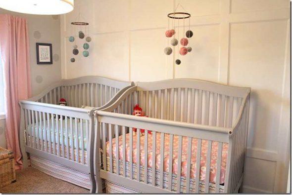 Кроватки для двойняшек