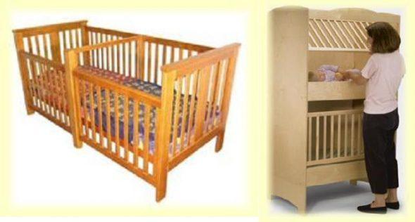 Кроватки для двойняшек детские кроватки-варианты