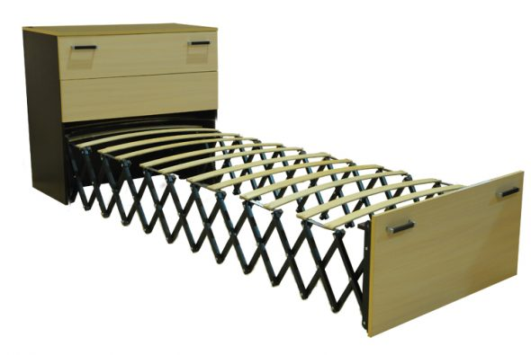 оригинальный раскладной шкаф кровать
