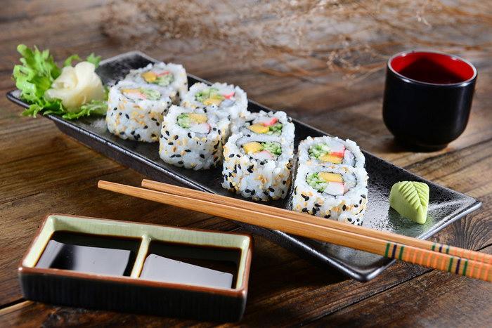 посуда для суши