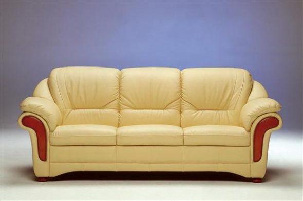 Почистить кожаный диван