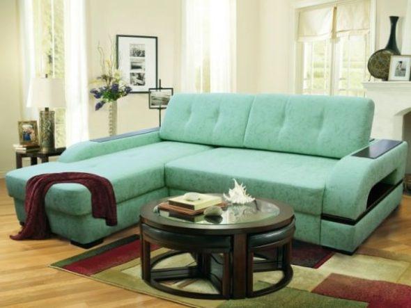 Подбираем цвет дивана и кресел для гостиной