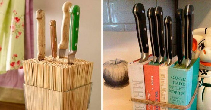 подставка для ножей дизайн
